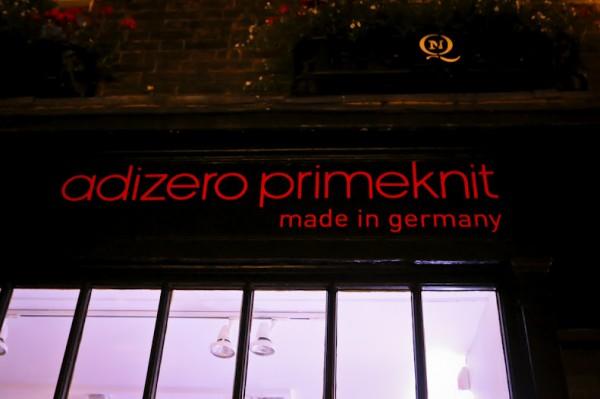 adidas adiZero Primknit London Launch Recap