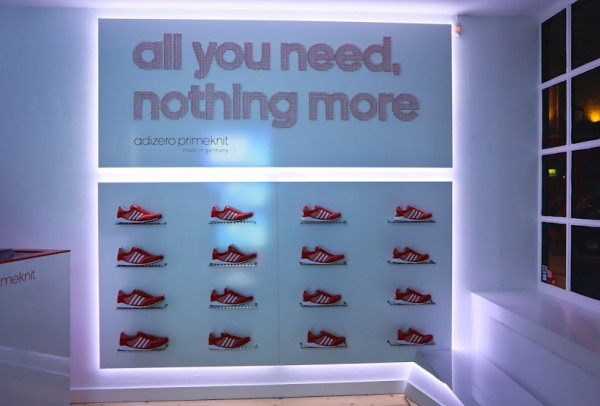 adidas adiZero Primknit London Launch Recap