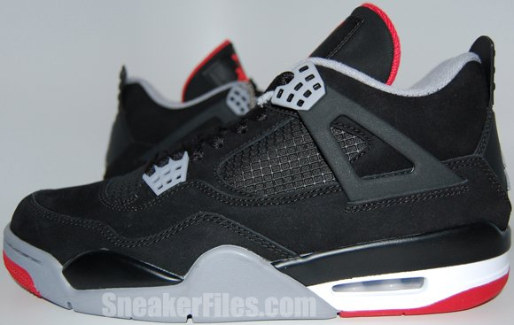 Air Jordan 4 (IV) Black Cement 2012 Retro Epic Look