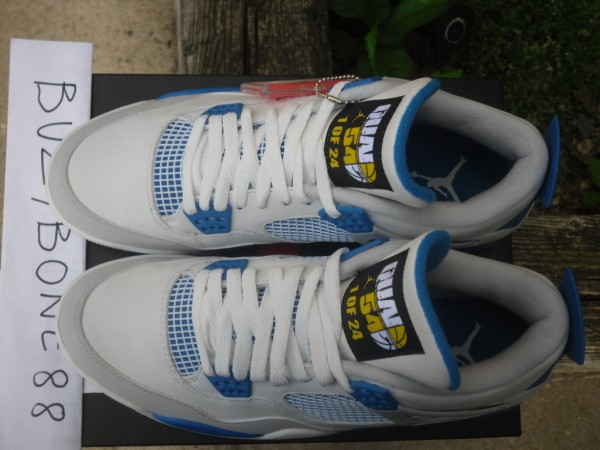 Air Jordan 4  Military Blue  – Quai 54 Edition on eBay  dc26470f0471