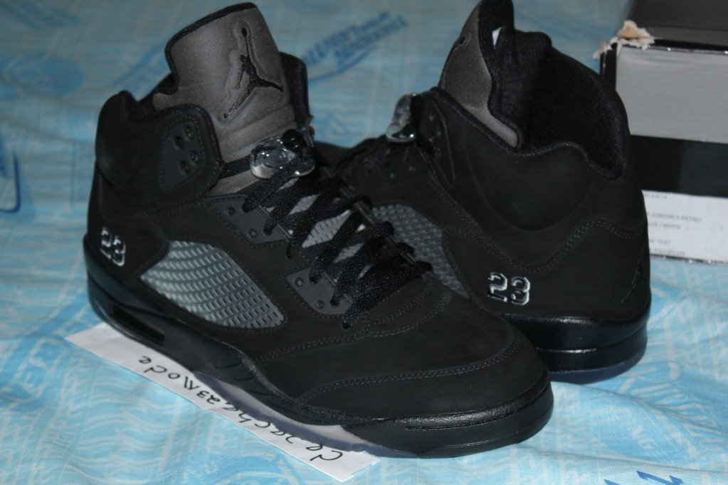 air jordan 5 black cat