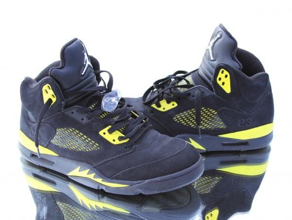 quality design 60c56 ddcec Air Jordan 5 (V) 'Thunder' Custom | SneakerFiles