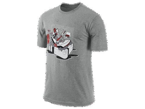 Air jordan 4 fire red 39 keep it clean 39 t shirt sneakerfiles for Kicks on fire t shirt