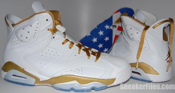 Air Jordan VI (6) Gold Medal Epic Look