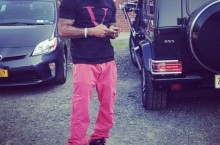 Celebrity Sneaker Watch: Jim Jones in Air Jordan VI Retro