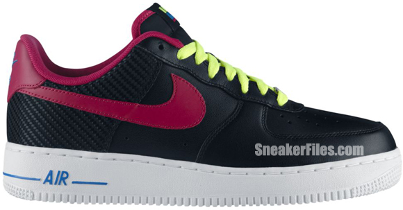Nike Air Force 1 Low London WBF - Fireberry Pack
