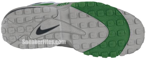 Nike Air Max Speed Turf - Metallic Silver/Black-Pine Green