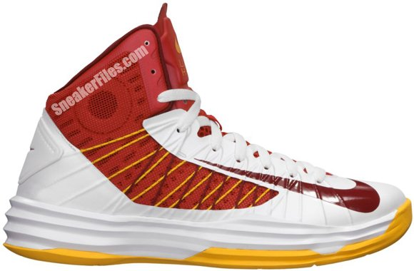 Release Reminder: Nike Hyperdunk 'White/Team Red-University Red-University Gold'