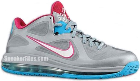 Nike LeBron 9 Low WBF - Fireberry Pack