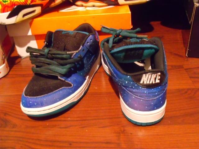 ... Nike SB Dunk Low 'Galaxy' Custom by Sole Freshh Customs | SneakerFiles  ...
