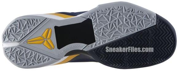 Nike Zoom Kobe VII System 'Obsidian/University Gold-Game Royal-Wolf Grey'