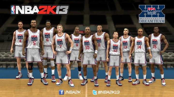 1992 Dream Team in NBA 2K13