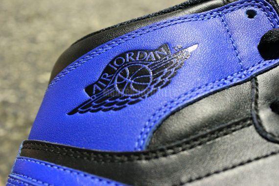 Air Jordan 1 'Black/Royal' 2013 Retro Sample - Detailed Look