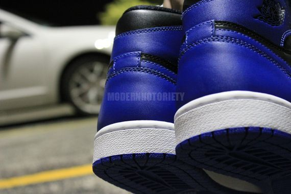 Air Jordan 1 'Black/Royal' 2013 Retro Sample - Detailed Look