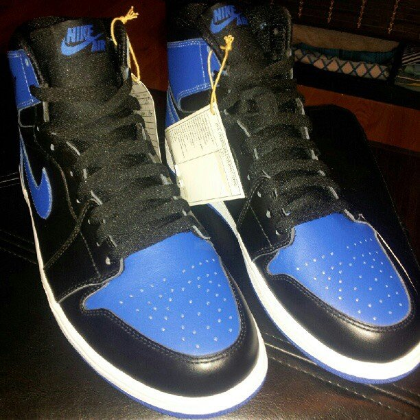 Air Jordan 1 'Black/Royal' 2013 Retro