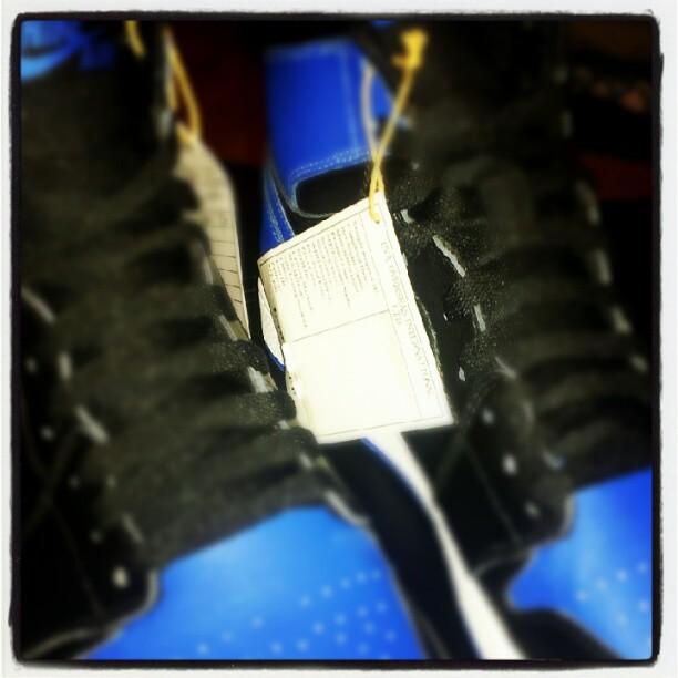 Air Jordan 1 'Black/Royal' 2013 Retro Sample