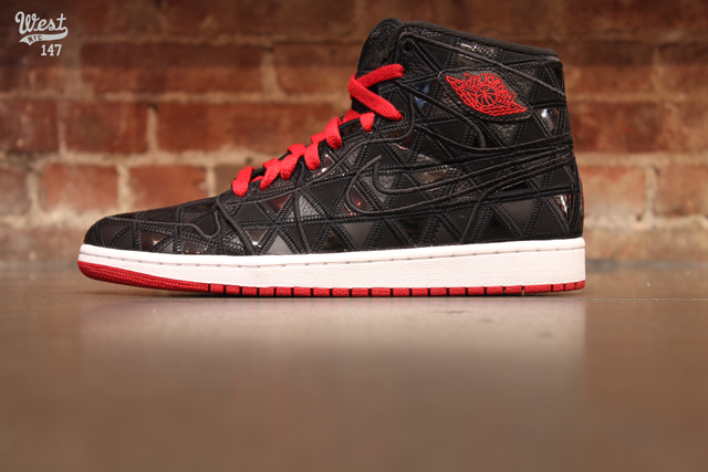 Air Jordan 1 J2K High 'Black/Varsity Red-White' at West NYC