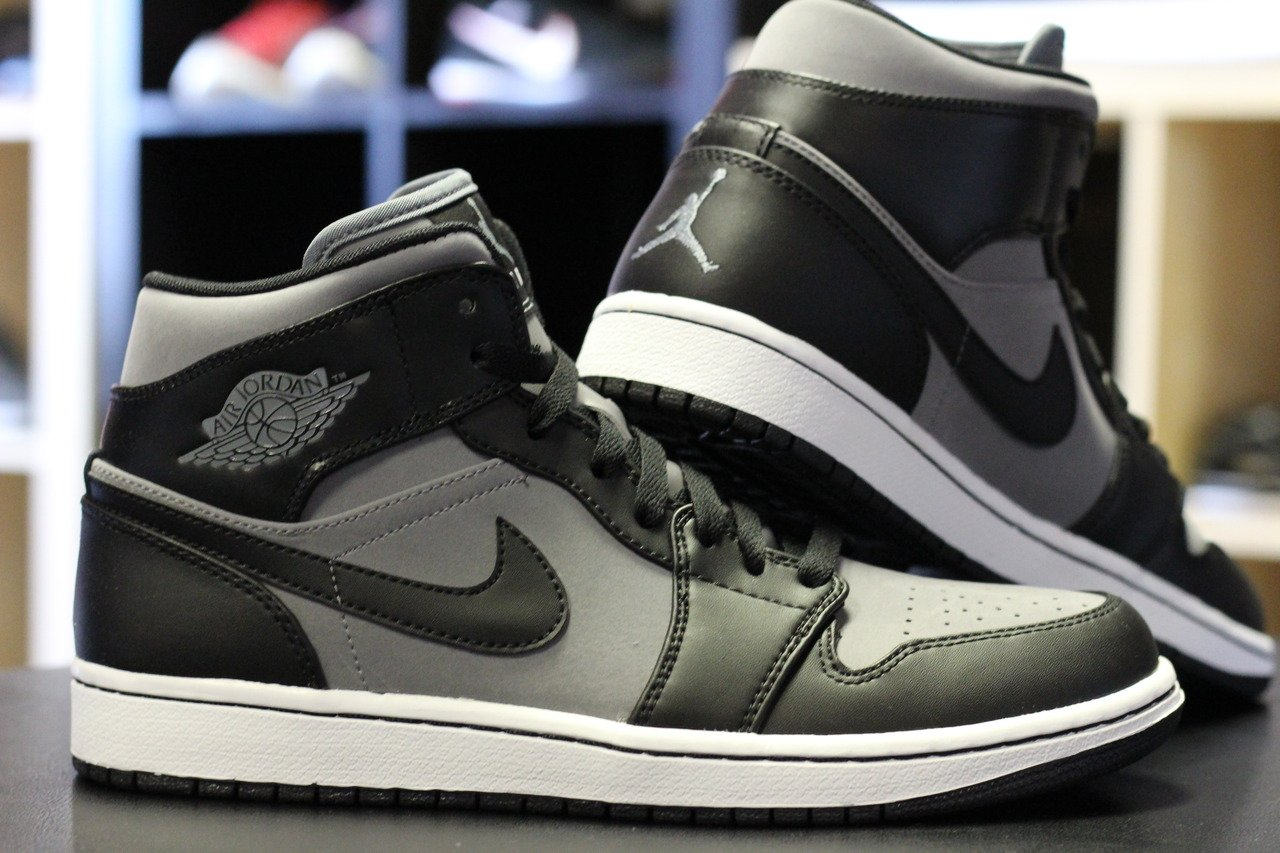Air Jordan 1 Phat 'Cool Grey/Black-White' at Rock City Kicks