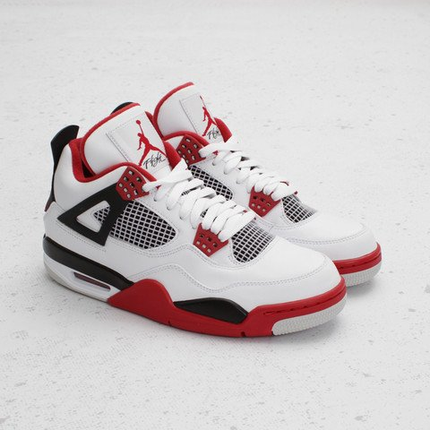 Air Jordan 4 'Fire Red' at Concepts