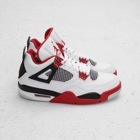 Air Jordan 4 'Fire Red' at Concepts