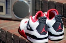 Air Jordan 4 'Fire Red' at Social Status