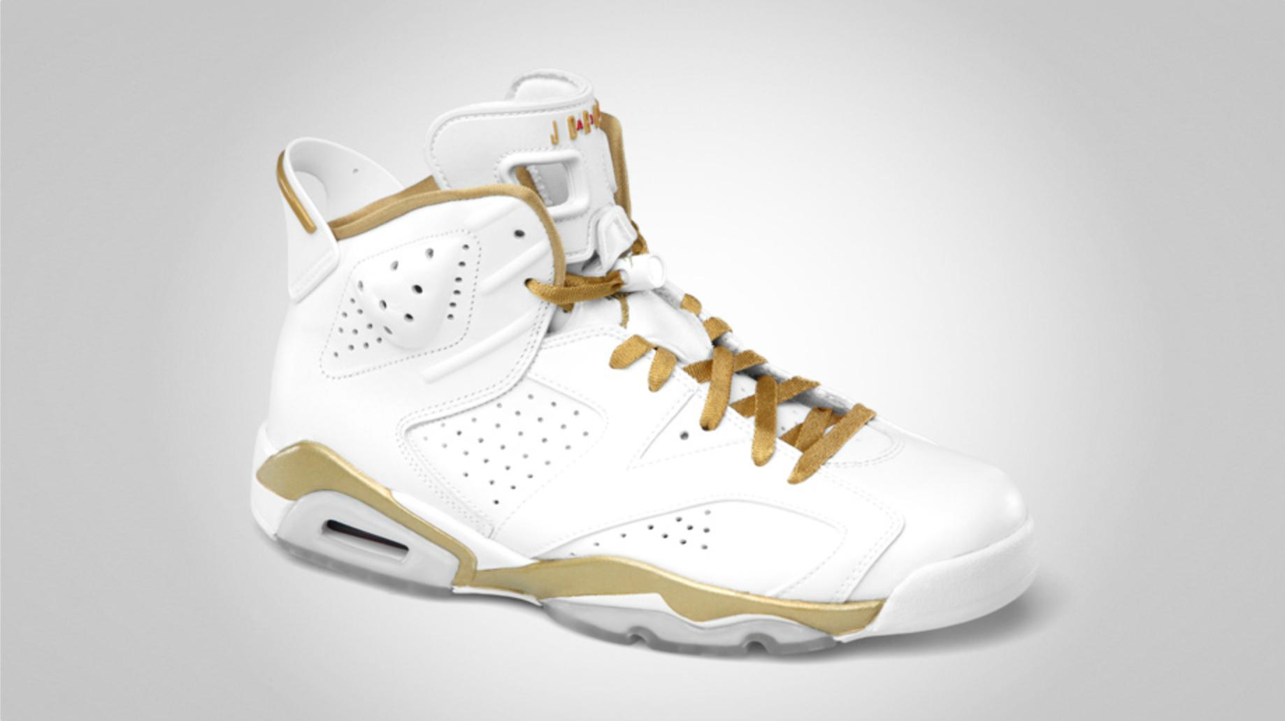 Air Jordan 6 Golden Moments - Official Images
