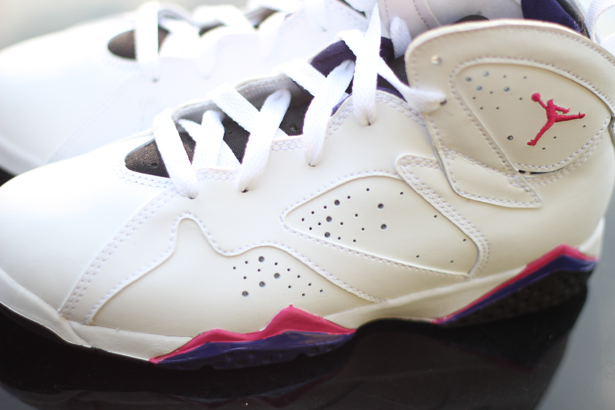 Air Jordan 7 GS Fireberry at Social Status