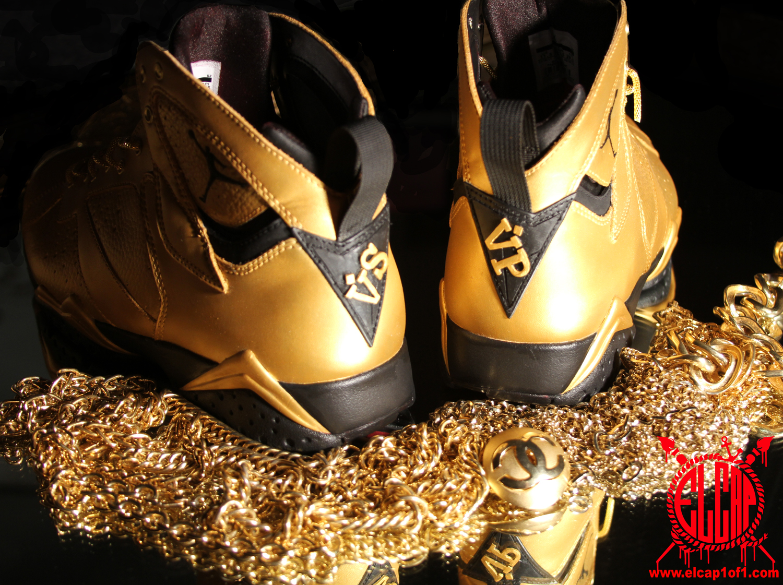 Air Jordan 7 'Goldie' by El Cappy