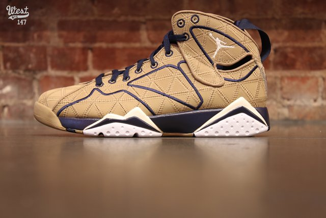 Air Jordan 7 J2K 'Filbert/Natural-Obsidian-White' at West NYC