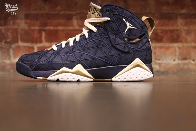 Air Jordan 7 J2K 'Obsidian/Natural-Filbert-White' at West NYC
