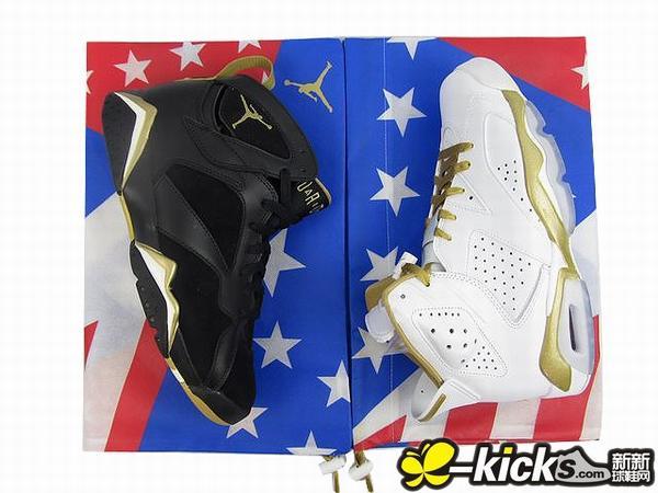 Air Jordan Golden Moments Pack Drops Tomorrow