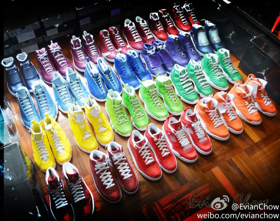 Air Jordan Rainbow Pack - New Image