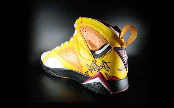 Air Jordan VII (7) 'Rossi' by MelonKicks