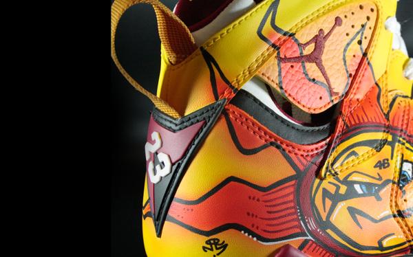 Air Jordan VII (7) 'Rossi' by MelonKicks