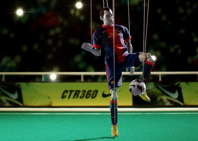 Andres Iniesta Pulls The Strings in CTR360 Maestri III Film