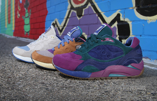 Bodega x Saucony Elite G9 Collection at Premier