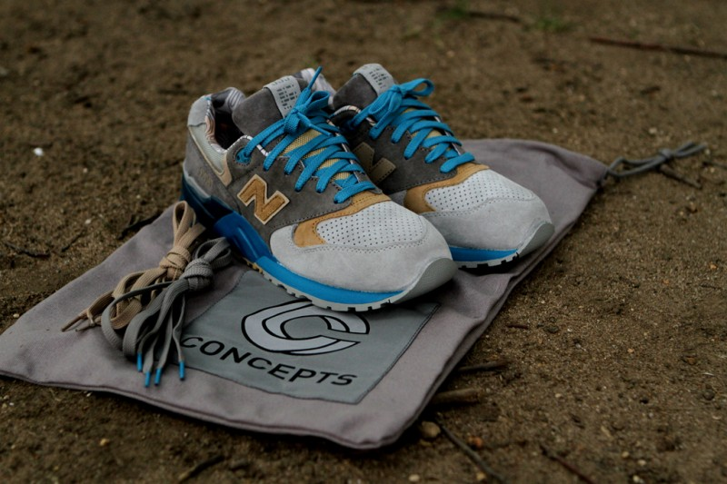 100% authentic 3f4b8 6efa2 Concepts x New Balance 999 'SEAL' at Kith NYC | SneakerFiles