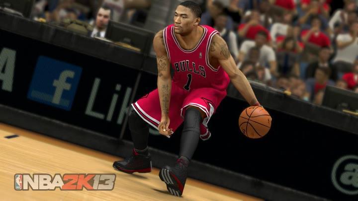 Derrick Rose in the adidas Rose 3.0 in NBA 2K13