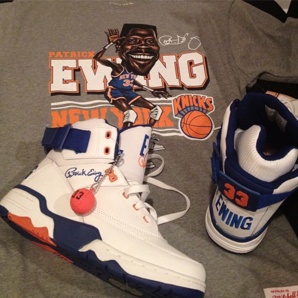 release date: 79920 2382c Fabolous Shows Off the Ewing 33 Hi