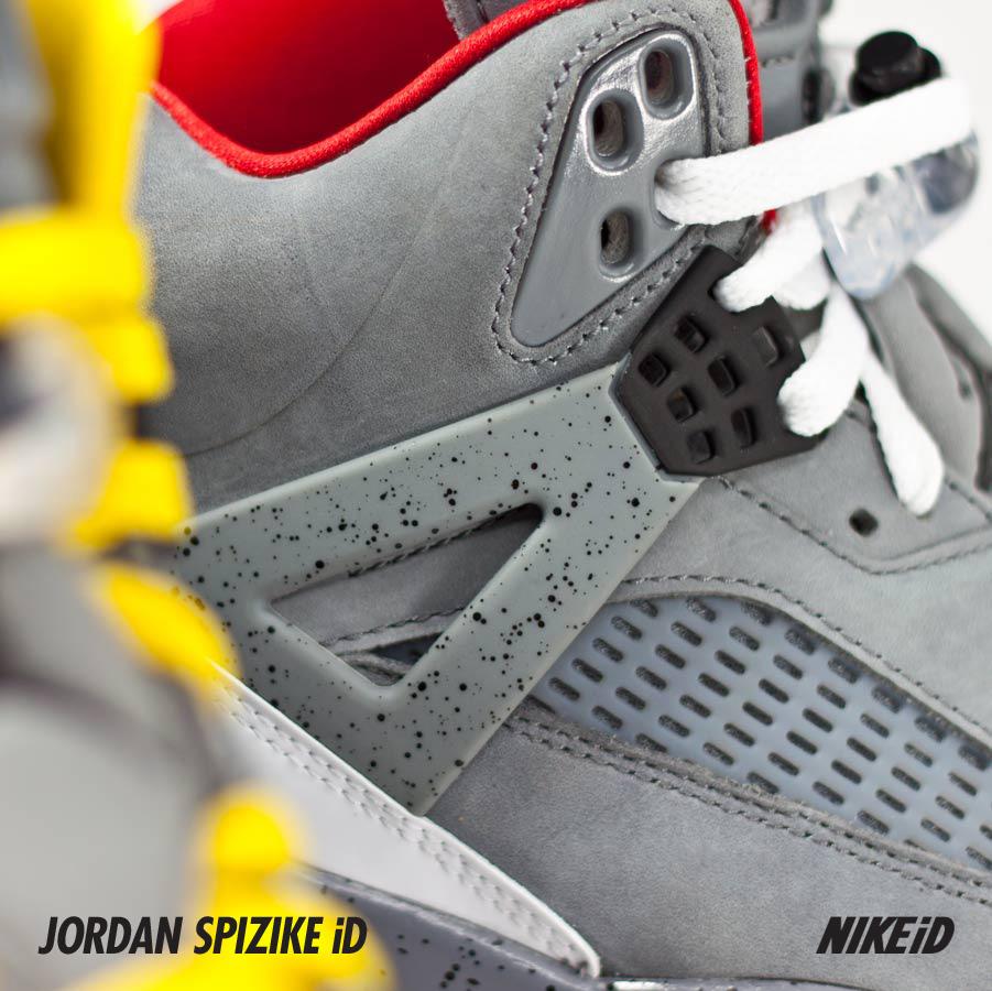 Jordan Spiz'ike iD Cement and Nubuck Options - A Closer Look