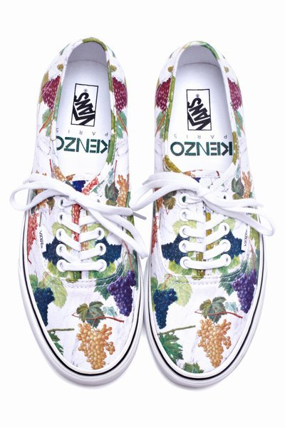 Kenzo x Vans Authentic Fall 2012 Pre-Order at Opening Ceremony