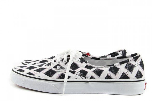Kenzo x Vans Authentic and Classic Slip-On - Fall/Winter 2012