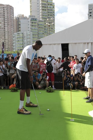 Kevin Durant Kicks Off 2012 Nike Greater China Tour in Shanghai