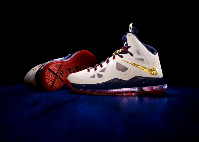 LeBron James Debuts the Nike LeBron X (10) Gold Medal