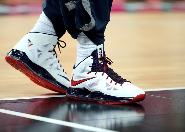 on sale 983da d0340 LeBron James Debuts the Nike LeBron X (10) Gold Medal
