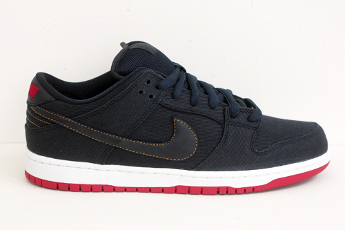 Levi's x Nike SB Dunk Low 'Dark Obsidian' at Civilist