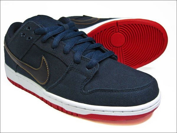 Levi's x Nike SB Dunk Low 'Dark Obsidian'