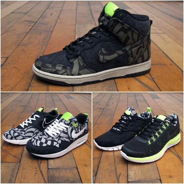 Liberty of london x nike sportswear lotus jazz pack at 21 for Mercer available loads