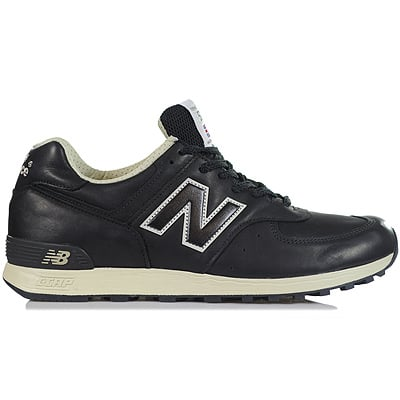 New Balance 576 Leather 'Black'
