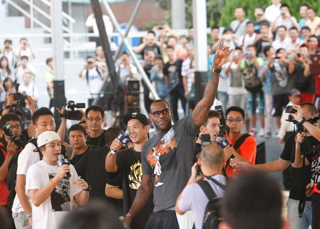 Nike+ Festival of Sports Kicks Off in Shanghai